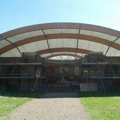 St George's project - canopy progress