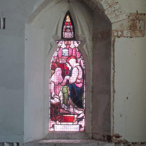 South Ealing Cemetery Chapel project - chapel window