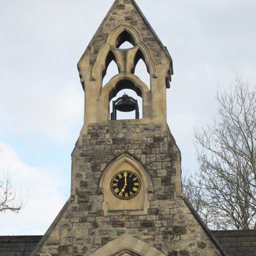 South Ealing Cemetery Chapel project - clock tower