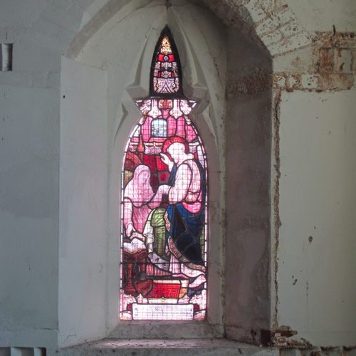 South Ealing Cemetery Chapel project - south chapel window